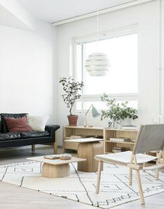 skandinavisch wohnen 50 schicke ideen | architecture, interior and ... - Skandinavisch Wohnen Wohnzimmer
