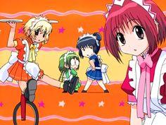 Buling, Retasu, Minto, and Ichigo