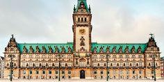 Any traveler should want to visit Hamburg just to see the Hamburg Rathaus (photo by Wolfgang Staudt)