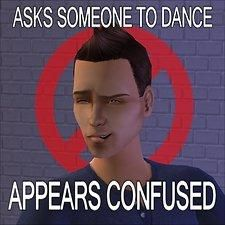 "Mod The Sims - No More ""Dance Face"""