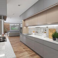 Private House Interior Design made by: Zambaut-Design Home Interior Design, Exterior Design, Interior And Exterior, Villa, Architecture, Instagram, Kitchen, House, Home Decor
