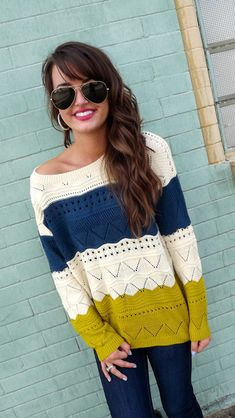 Baggy sweaters - perfect for fall
