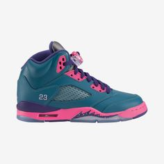 premium selection c77b8 44e0e Nike Store. Air Jordan 5 Retro (3.5y-7y) Girls  Shoe