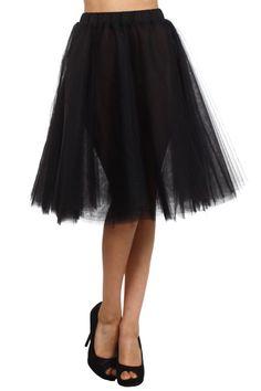 A-Line Tulle Skirt - main Ballerina Dress 5881e4ac82