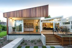 Residential Architecture – Houses (Alterations and Additions) Award – LF House by Ben Walker Architects. Photo by Lightstudies.