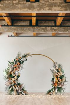 We are wholeheartedly dazzled by this tropical bohemian elopement inspiration with a circular backdrop adorned in dyed monstera leaves, sun palms, orchids, anthuriums and more! From the rooftop First Look to the post I Do flowerfetti moment, you can count on this darling Chicago wedding inspiration to put a smile on your face... and give you plenty to bookmark too! See it all on Ruffled Blog now #samesexwedding #bohoweddingideas #twobrides Bali Wedding, Wedding Ceremony, Wedding Bands, Floral Backdrop, Floral Garland, Indoor Wedding, Wedding Vendors, Tropical Weddings, Peacock Chair
