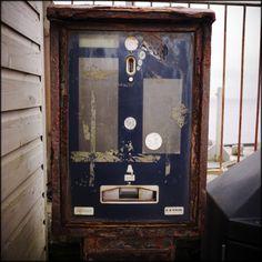 Rusty Parking Meter. Cornwall.