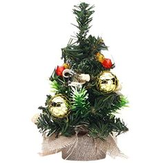 Smartcoco 20cm Mini Christmas Tree Xmas Decor Desk Table Decoration Festival Desktop Home Party Ornaments ** Details can be found by clicking on the image. (This is an affiliate link) #SeasonalDcor #xmastreedecorations