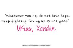 Xander, I miss him D: Ukiss Kpop, Lyric Quotes, Lyrics, What Is Love, My Love, Korean Quotes, Best Ups, U Kiss, Keep Fighting
