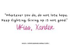 Xander, I miss him D: Ukiss Kpop, Lyric Quotes, Lyrics, Korean Quotes, U Kiss, Keep Fighting, I Miss Him, Inspiring Things, What Is Love