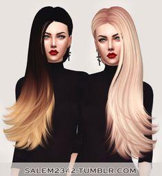 Skysims Hair 259 Retexture at Salem2342 via Sims 4 Updates