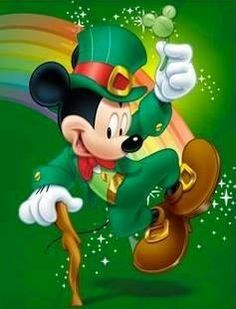 Mickey Mouse - Happy St. Patrick's Day