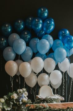 baby boy birthday party A perfectly simple first birthday for our baby boy. With an ombre blue ballon garland and all the natural Pacific Northwest touches! Boys First Birthday Party Ideas, Baby Boy 1st Birthday Party, Elegant Birthday Party, Birthday Themes For Boys, Diy Birthday Decorations, Cake Birthday, Baby Boy Birthday Decoration, Birthday Photos, First Birthday Balloons