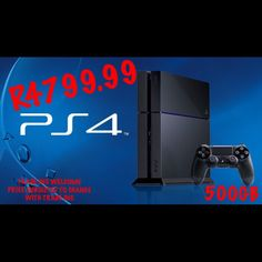 Sony PlayStation 4 Launch Edition Jet Black Console plus games and LCD tv Newest Playstation, Playstation 4 Console, Playstation Games, Ps4 Games, Play Stations, Consoles, Video Game News, Video Games, Xbox One