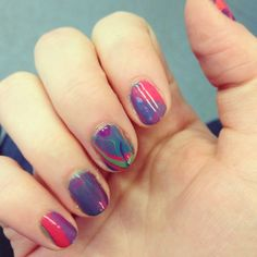 water marble #mani | nails and niceties