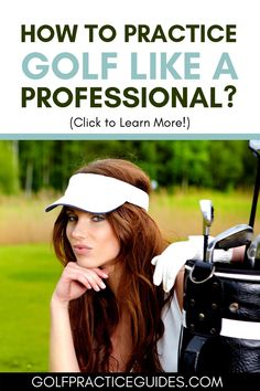How to spend your golf practice time to practice golf like a professional. See our best practice tips inside. #golf Golf Score, Golf Practice, Golf Chipping, Golf Instruction, Golf Putting, Golf Exercises, Golf Training, Golf Lessons, Golf Tips