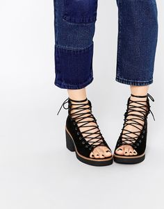 ASOS+RACER+Lace+Up+Boots