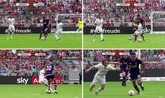 Tottenham youngster Dele Alli nutmegs Luka Modric