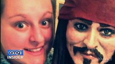 "Women around the world have long found Johnny Depp to be one of the yummiest celebs in Hollywood. But now, the 50-year-old star is figuratively speaking, edible!  Lara Clarke of Brownshill, West Midlands, in England baked a cake of Johnny's ""Pirates of the Caribbean"" character, Captain Jack Sparrow, that is 5 feet 5 inches tall! Clarke spoke to the BBC about the intricate dessert, explaining that the cake is ""just shy of life-size"" because she was ""worried we wouldn't be able"