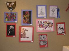 Artwork by some of Atchison, Kansas' youth.