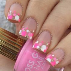 Manicura de uñas 50 Ideen Pediküre Ideen Sommer Strand Zehen Tupfen Regrow Hair Naturally It is not Fancy Nails, Trendy Nails, Diy Nails, Gold Nails, Cute Spring Nails, Bright Summer Nails, Summer Toenails, Bright Spring, Summer Colors