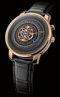 La Cote des Montres : La montre Geo.Graham Tourbillon Orrery - 1713-2013 : Célébration des 300 ans de l'Orrery - Édition limitée 20 pièces