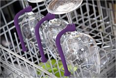 """""""TETHER"""" - SAVE YOUR STEMWARE  I love a clever, simple ideas, specially if it brings a solution for our everyday problems. $12.99"""