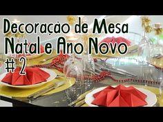 Decoração de Mesa para Natal e Ano Novo #2 - Mesa Pronta