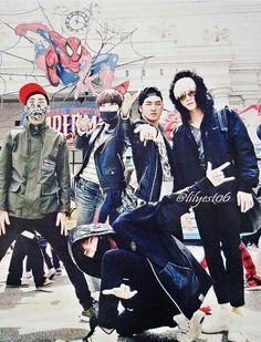 Nu'est // JR, Ren, Baekho, Minhyun, Aron