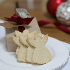 biscuit box of christmas angel shortbread by shortbread gift company | notonthehighstreet.com