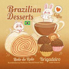 Cute Food Drawings, Cute Kawaii Drawings, Kawaii Art, Cute Food Art, Cute Art, Kawaii Stickers, Cute Stickers, Food Sketch, Cute Kawaii Animals