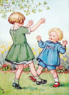 Cicely Mary Barker - Let's Dance