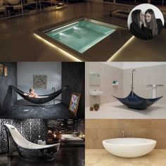 What's your favorite #bathtub? Check out our blog Lost in Design! #interiordesign