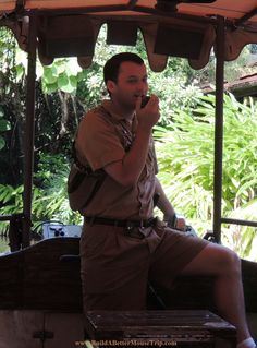 """""""Before I came to the Jungle, I worked in an orange juice factory, but I got canned because I couldn't concentrate. My boss almost beat the pulp out of me...""""  The Jungle Cruise in #Adventureland in the Magic Kingdom at Disney World."""