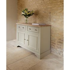 Buy Neptune Chichester 4ft Sideboard, Limestone Online at johnlewis.com