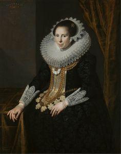 Portrait de Johanna Martens, 1625 Paulus Moreelse