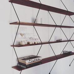 Chose your size, wood and structure colors to create your own Climb shelving system designed by Bashko Trybek ⚡️pic by . Shelving Systems, Take Me Home, Love Design, Modern Luxury, Furniture Design, Sweet Home, Lily, Shelves, Pure Products