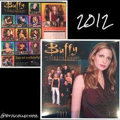 Buffy the Vampire Slayer - 2012 Calendar  #btvscollector #btvs #buffy #buffythevampireslayer
