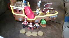 Disney Jake and the Neverland Pirates Sounds Ship Lot  #FisherPrice