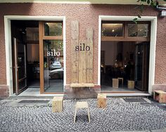 Berlin Coffee Office Hours on September 2014 at Silo Coffee Restaurant Interior Design, Cafe Interior, Interior And Exterior, Exterior Signage, Berlin Cafe, Deco Cafe, Cafe Display, Cafe Concept, Basement Inspiration