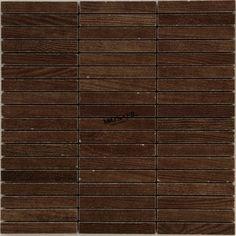 Mosaik Holzoptik Bodenfliesen Dunkelbraun - TG10081m  9,99€/Stck.  15x98mmSteingröße