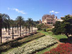 Palma de Mallorca Sidewalk, Palmas, Majorca, Side Walkway, Walkway, Walkways, Pavement