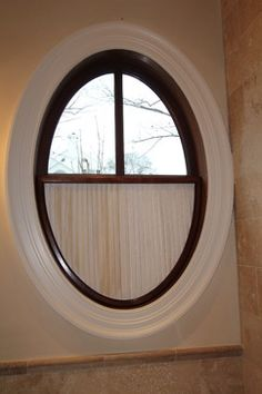 Oval Window Covering Home Ideas Small Bathroom Window