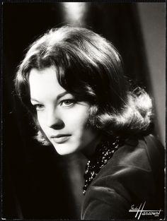 Romy Schneider 1960 - Studio Harcourt