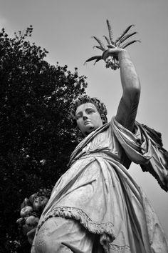 Statua dell'Abbondanza, giardino di Boboli, Firenze