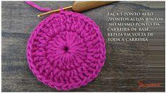 Cómo tejer tapete, flor o mandala crochet paso a paso en imágenes. Crochet Diy, Crochet Motif, Crochet Flowers, Knitted Hats, Crochet Hats, Crochet Curtains, Crochet Videos, Becca, Crochet Projects