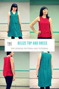 Hello everyone, Thank you for visiting us again. This is our latest pattern:  The Belize Top and Dress PDF sewing pattern, a sharp and unique design!   This summer ready top and dress pattern has a unique 90 degree angle armhole in front and back bodices, giving it a very sharp and dramatic effect.  The …