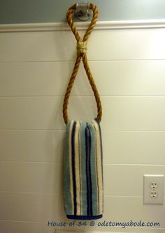 project: towel racks - bathroom | Inspire Me Heather