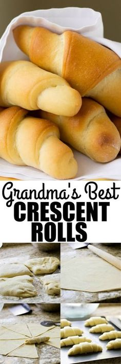 My Grandma's Homemade Crescent Rolls are legendary. Pillowy soft with a sweet, buttery taste, you'll be spoiled from store-bought crescent rolls forever. via @culinaryhill