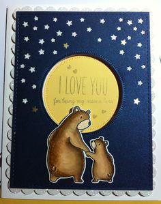 Mama Elephant Bear Hugs
